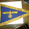 ww2 german  Donitz Grand Admirals car pennants