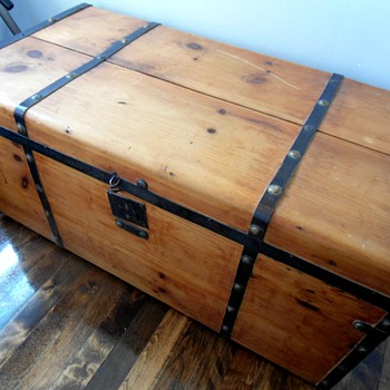Civil War Era Trunk Refinished - Furniture