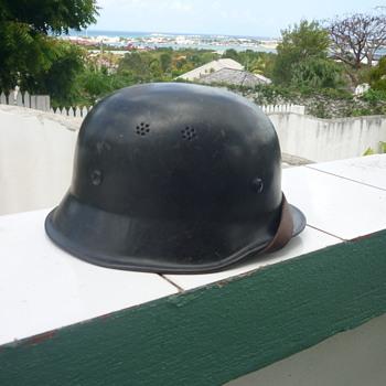 WWII German police/fireman's helmet