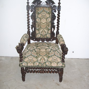 Dragon throne - Furniture