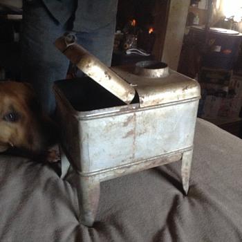 Antique mini wood stove
