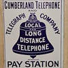 Cumberland Telephone and Telegraph Company Pay Station