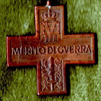 WWI Italian War Merit Cross with Sword - Military and Wartime
