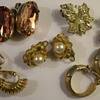 More Costume Jewelry Earrings 1950's & 60's