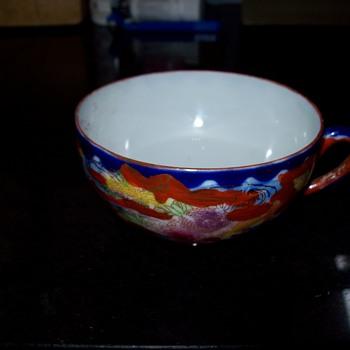 Antique Oriental Teacup