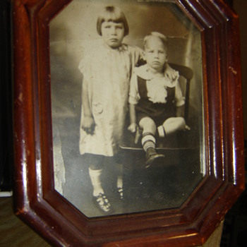 My Grandfather and Great Aunt - Photographs