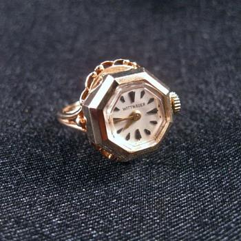 Wittnauer 10k vintage ring watch - Wristwatches