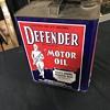 Defender motor oil 2 gallon oil can