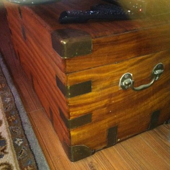 Capt E.C. Lea's Captian's chest - Furniture