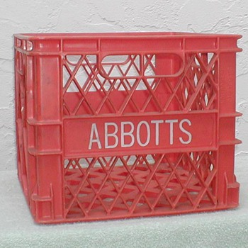 Abbott's Dairy Milk Crate - Advertising