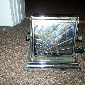 Spiderweb Toaster...beat up but still works! - Kitchen