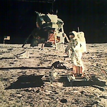 Apollo 11 Mission to the Moon 1969 - Photographs