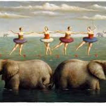 Balance Above the Waves - Ilya Zomb 2007 - Fine Art