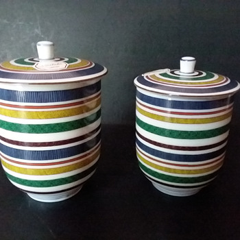 Noritake meoto yunomi set, 1975 - Asian