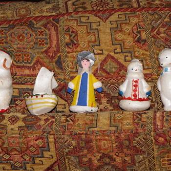 Antique Christmas Ornaments - Christmas