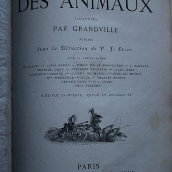 The Public and Private Lives of Animals (Vie Privée et Publique des Animaux) Antique Books - Books