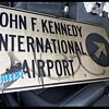Kennedy airport sign.
