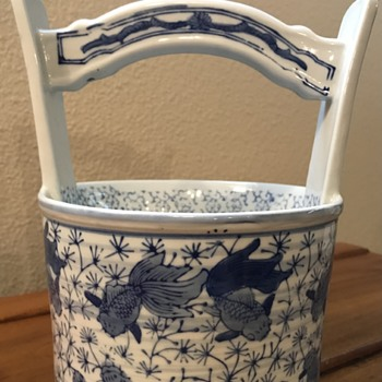 Chinese or Japanese water bucket? - Asian