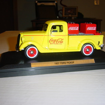 A full load in a die-cast truck. - Coca-Cola