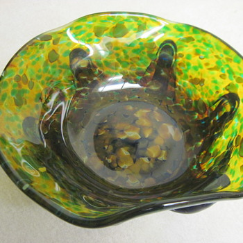 Information Needed On Hyroz Glass Thought To Be Czechoslovakian - Art Glass