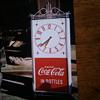 ART DECO COCA COLA CLOCK