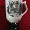 Hall China tri-state East Liverpool Ohio pottery festival 1981 mug