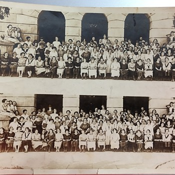 Kearney Neb. Teachers College Penmanship Class 1924 - Photographs