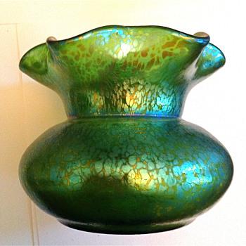 Loetz Art Glass Vase - Art Glass