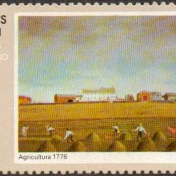 """Nicaragua - """"Agriculture"""" Postage Stamps"""