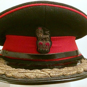 Royal Marine Colonel's Dress cap - Military and Wartime