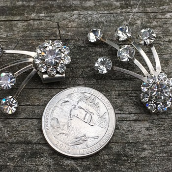 Vintage shoe clips?  - Costume Jewelry