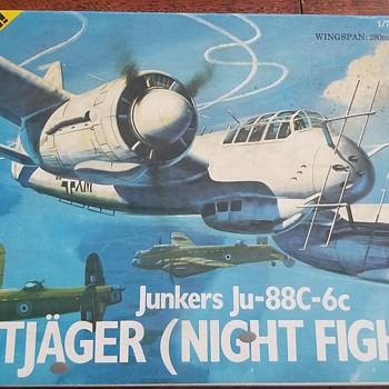 Junkers Ju-88c-6c (Night Fighter) - Toys
