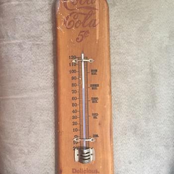 1905? Coca Cola thermometer  - Coca-Cola