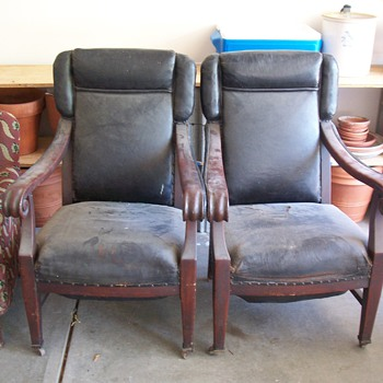 Union Pacific Executive Pullman Chairs