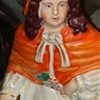 Staffordshire 1870s Red Riding Hood