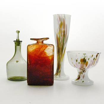 This year's Christmas presents - Art Glass