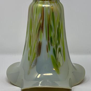 Loetz elfenbein Phänomen innen Silber, Genre 8237, PN II-8237, ca. 1912 - Art Glass