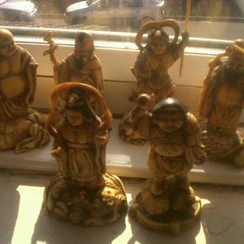 old japanses figures