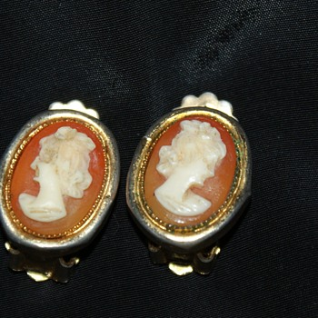 Cameo Custom Clip-On Earrings - Costume Jewelry