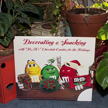 M&Ms Christmas Ad…...