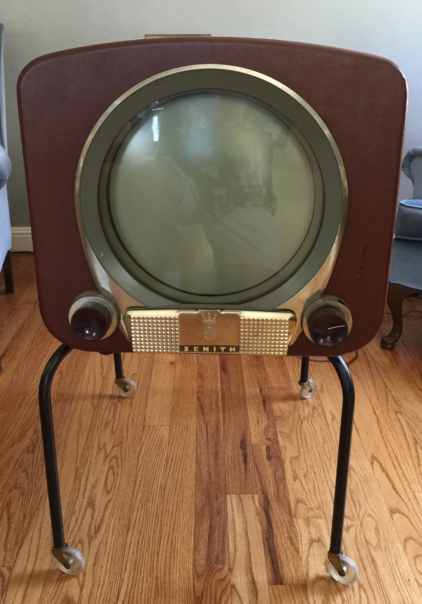 1950 zenith tv