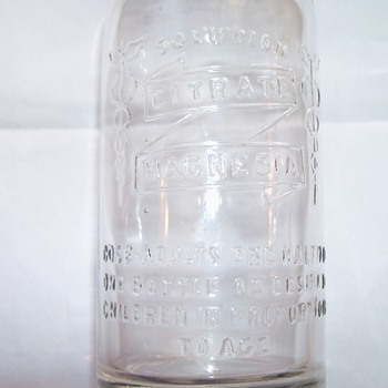 Citrate Magnesia - Bottles