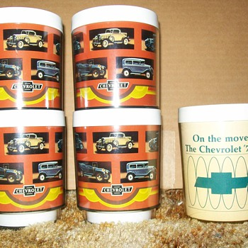 Chevrolet mugs - Kitchen