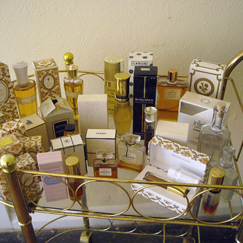 Perfume & Victorian? Tea Trolley