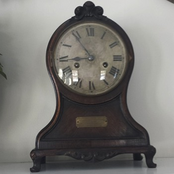 Hamburg American Mantel Clock - Clocks