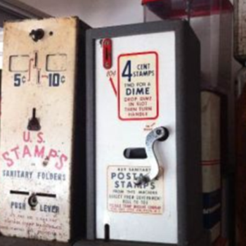 Stamp Machines - Coin Operated