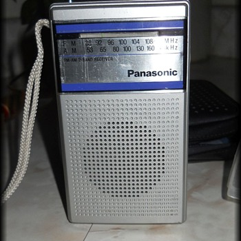 Panasonic Radio RF-503 FM/AM Portable Radio