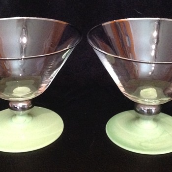 Two Sundae Dishes - Glassware