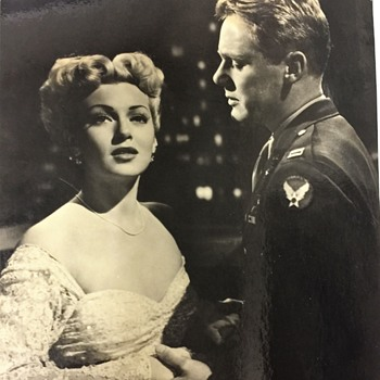 Vintage LANA TURNER & VAN JOHNSON Photo  from WEEKEND AT THE WALDORF - Photographs