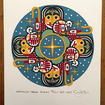 Christmas prints by Gary Houston, 2017-2015 - Posters and Prints